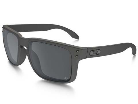 Oakley Holbrook Sunglasses (Color: Cerakote Tornado / Black Iridium / SI Daniel Defense)