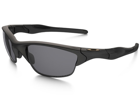Oakley SI Half Jacket 2.0 Matte Black w/ Grey Polarized Lens