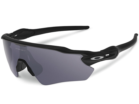 Oakley SI Radar EV Path Sunglasses Matte Black w/ Grey Polarized