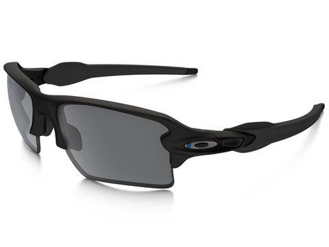 Oakley SI Flak™ 2.0 XL Thin Blue Line w/ Black Iridium Lens