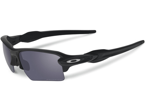 Oakley SI Flak™ 2.0 XL Matte Black w/ Grey Polarized Lens