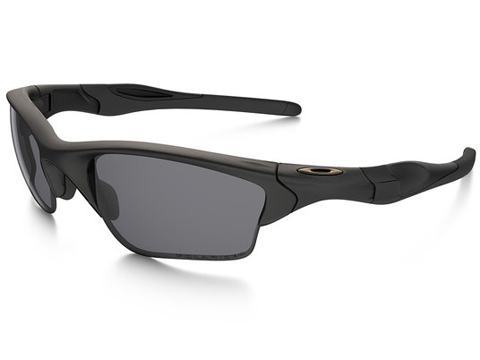 Oakley SI Half Jacket® 2.0 XL Matte Black w/ Grey Polarized Lens