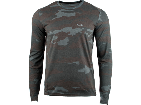 Oakley Link Long Sleeve T-Shirt (Size: Camo / Medium)