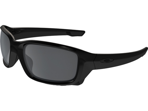 Oakley SI Straight Link Sunglasses (Color: Matte Black  / Prizm Grey Polarized)