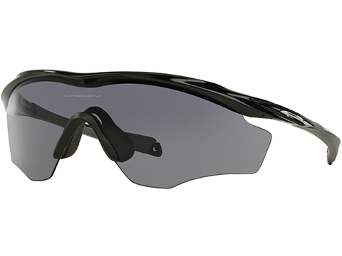 Oakley M2 Frame XL SUnglasses (Color: Polished Black / Grey)