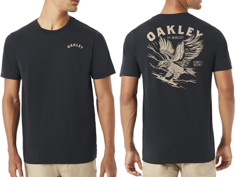 Oakley SC- Eagle T-Shirt (Color: Blackout / Large)