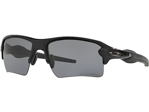 Oakley Flak 2.0 XL Glasses (Color: Matte Black / Prizm Grey Polarized)