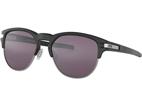 Oakley Latch Key Sunglasses (Color: Matte Black / Prizm Grey / Large)