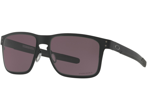 Oakley Holbrook Metal Mens Sunglasses (Color: Matte Black / Black Iridium )