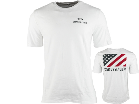 Oakley SC USA Flag Tee