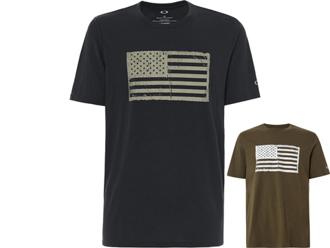 Oakley SC Mil Flag Sueded Cotton Tee