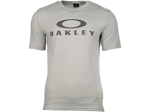 Oakley O Bark Short Sleeve Logo Tee (Color: Stone Grey / Medium)