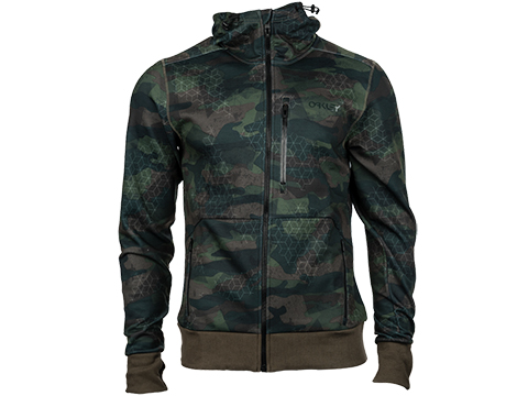 Oakley Scuba FZ Fleece Hoodie (Color: Camo / XLarge)