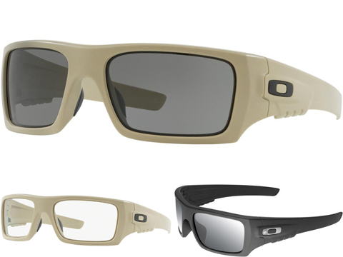 Oakley SI Ballistic Det-Cord Sunglasses (Color: Desert Tan / Grey Lenses)