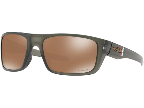 Oakley SI Drop Point Sunglasses (Color: Matte Olive / PRIZM Tungsten)