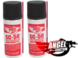 Angel Custom All Purpose Silicone Lubricant Oil Spray for Airsoft / Firearm (Two Pack)