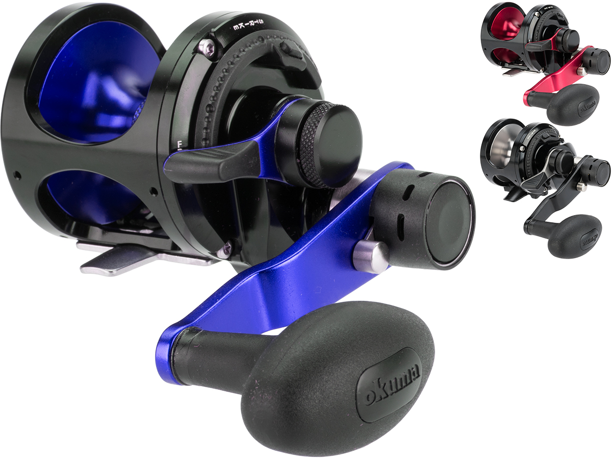 Okuma Metaloid Two Speed Lever Drag Reel