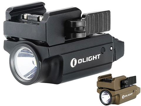 Olight PL-MINI 2 Valkyrie 600 Lumen High Output Weapon Light (Color: Black)