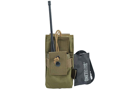 OneTigris Tactical Radio Holder (Color: Coyote)
