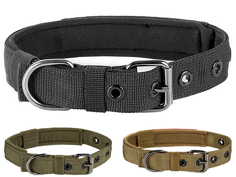 OneTigris Adjustable Small Tactical Dog Collar