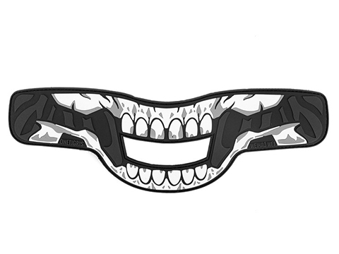 OneTigris FACE OFF Airsoft Mask Patch (Style: Skeletal Decor)