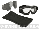 Oakley Full Seal Ballistic Goggle 2.0 ARRAY - Matte Black w/ Clear & Grey Lens