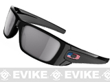 Oakley SI Fuel Cell - Matte Black / Grey w/ US Flag Icon