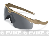 Oakley SI Ballistic M Frame 3.0 Strike Shooting Glasses (Color: Dark Bone / Smoke Grey)