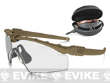 Oakley SI Ballistic M Frame 3.0 Strike Array Shooting Glasses (Color: Dark Bone / Clear, Persimmon, Smoke Grey Lenses)