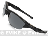 Oakley Half Jacket 2.0 Black with Polarized Iridium Lenses - Asia Fit