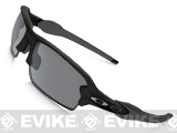 Oakley Flak Jacket 2.0 with Iridium Lenses (Asian Fit) - Black