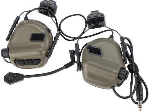 Earmor M32H MOD3 Tactical Communication Hearing Protector for ARC FAST MT Helmets (Color: OD Green)