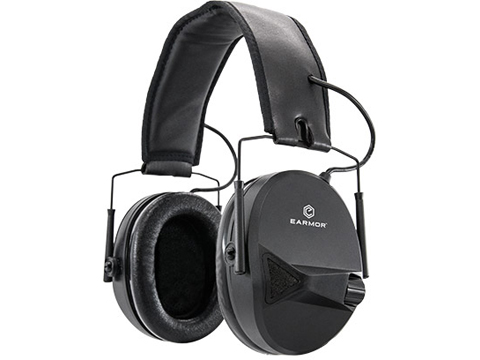 OPSMEN Earmor M30 Sound Amplifying Hearing Protector (Color: Black)