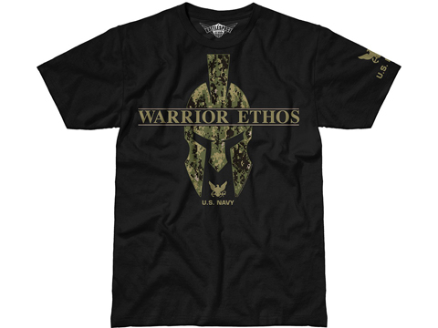 7.62 Design Warrior Ethos: Navy T-Shirt