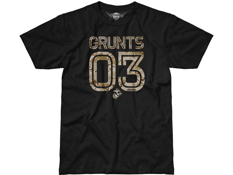 7.62 Design USMC 03 Grunts T-Shirt