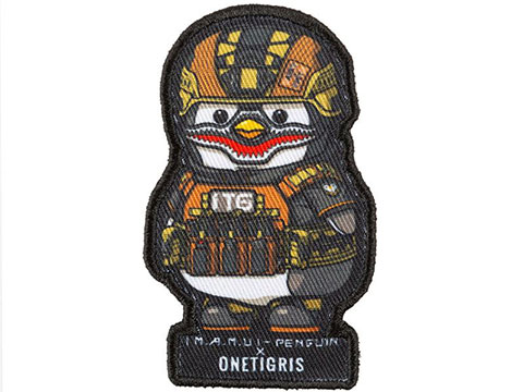 OneTigris Tactical Penguin Hook and Loop Patch