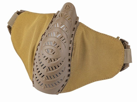 OneTigris T'Farge Foldable Comfort Face Mask (Color: Tan)