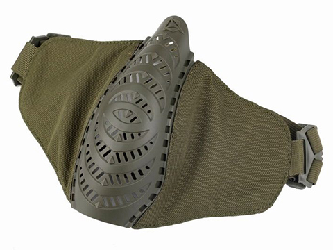 OneTigris T'Farge Foldable Comfort Face Mask (Color: Olive Drab)
