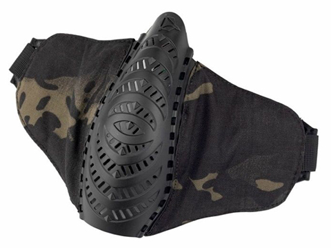 OneTigris T'Farge Foldable Comfort Face Mask (Color: Multicam Black)