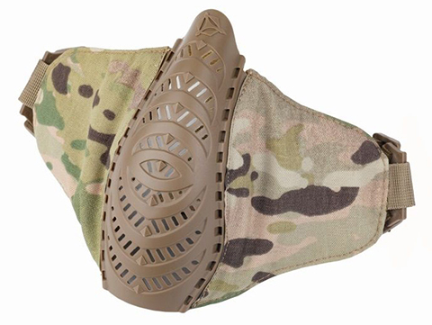 OneTigris T'Farge Foldable Comfort Face Mask (Color: Multicam)
