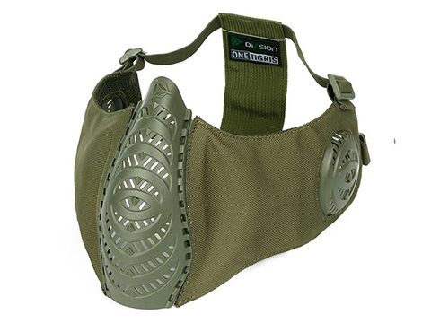 OneTigris T'Farge Foldable Comfort Face Mask (Color: Olive Drab / With Ear Protection)