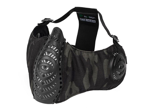 OneTigris T'Farge Foldable Comfort Face Mask (Color: Multicam Black / With Ear Protection)
