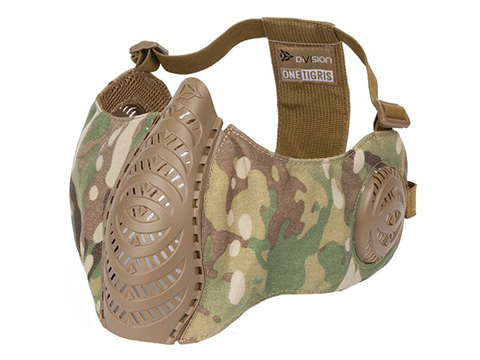 OneTigris T'Farge Foldable Comfort Face Mask (Color: Multicam / With Ear Protection)
