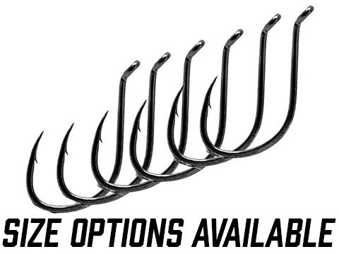 Owner 5111-141 SSW All Purpose Bait Hook with Forged Reversed Bend Shank Cutting Point