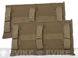 Avengers MOLLE Side Panel for JPC Series Airsoft Plate Carriers - Large / Coyote Brown