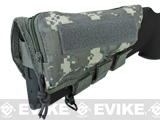 Modify Rifle Stock Ammo Pouch w/ Cheek Pad - ACU