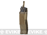 Matrix Airsoft SMG Single Magazine MOLLE Pouch (Color: Coyote Brown)