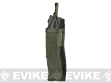 Matrix Airsoft SMG Single Magazine MOLLE Pouch - Foliage Green