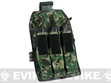 Matrix Airsoft SMG Magazine Thigh Pouch - Digital Woodland