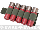 Matrix 5rd Shotgun Shell Holder w/ Hook Backing (Color: Foliage Green)
